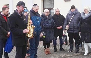 Жители Гродно почтили память жертв Холокоста