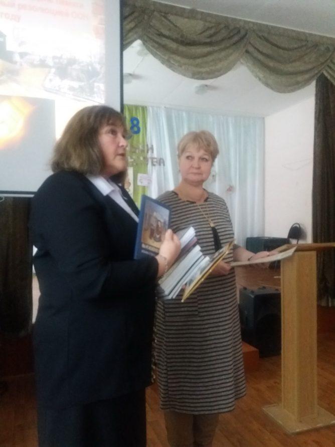 Неделя памяти в школе № 2 г. Лихославль