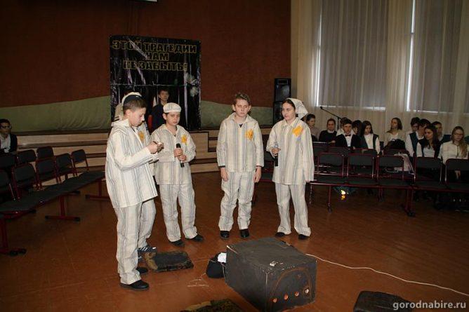 Учащиеся биробиджанского лицея №23 поставили спектакль об ужасах Холокоста и человеческой памяти