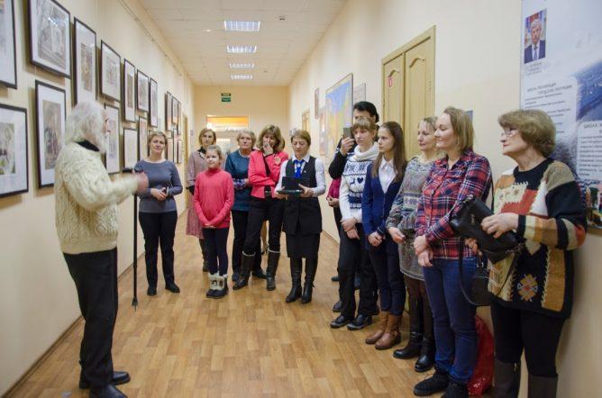 Школьники Петербурга изобразили страницы памяти военных событий