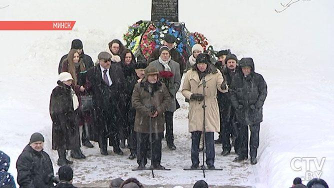 Жертв Холокоста вспоминают в Минске 2 марта: у мемориального комплекса «Яма» прошёл памятный митинг
