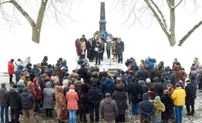 Митинг памяти жертв Холокоста состоялся в Минске