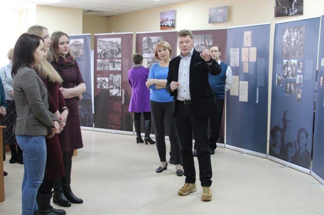 В библиотеке работает выставка о жертвах немецкого оккупационного режима