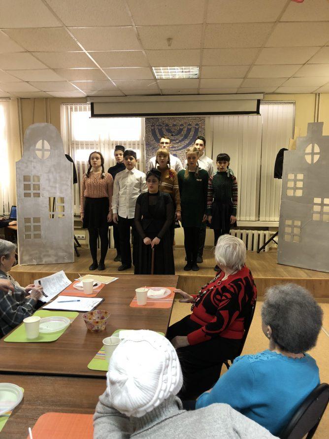 Концерт,  посвященный дню памяти жертв Холокоста в Екатеринбурге