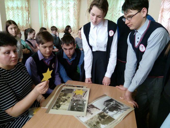 Урок Памяти в г. Мариинске