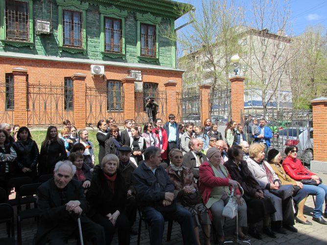 Открытие памятника жертвам Холокоста в Хабаровске