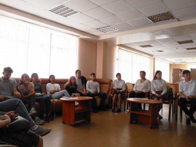 Школьники Калмыкии обсудили поэму Е. Евтушенко «Бабий Яр»