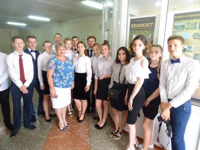 Выставка «Холокост: уничтожение, освобождение, спасение» в школе Тамбова