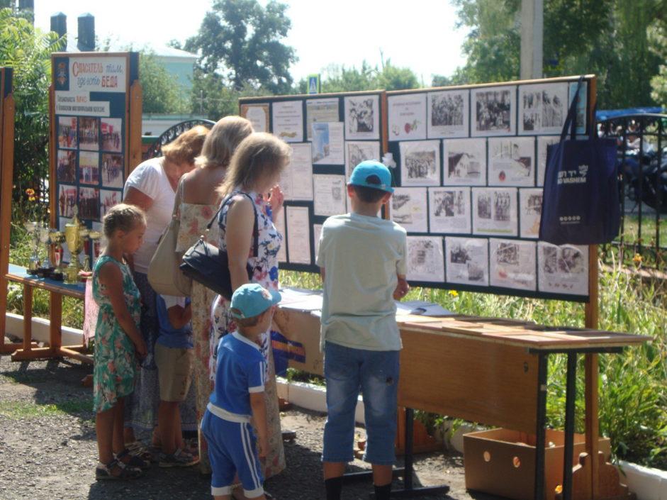 Выставка работ о Холокосте в городе Усмань