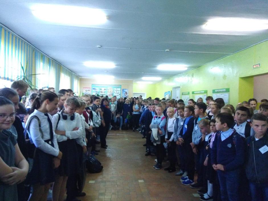 День памяти жертв Беслана в Лихославле