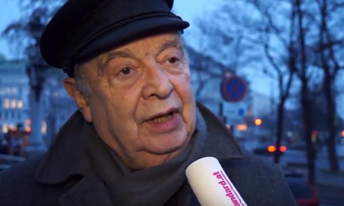 Умер известный журналист Рудольф Гельбард, переживший Холокост