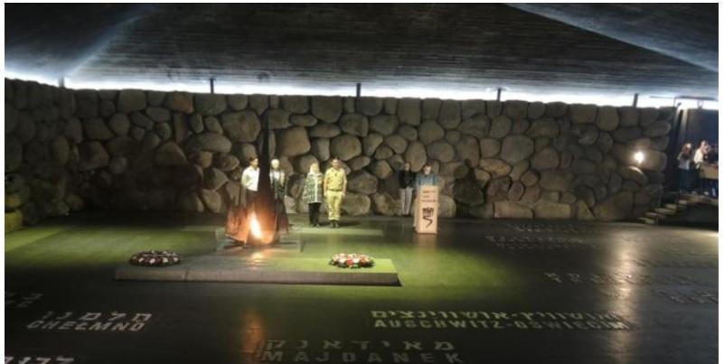 В Иерусалиме зажгли вечный огонь в память о жертвах Минского гетто