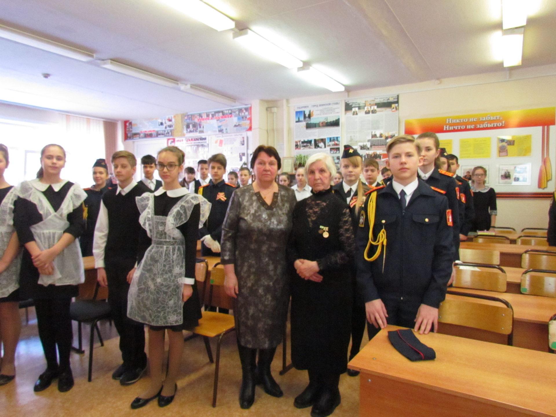 Неделя памяти в Хабаровских школах