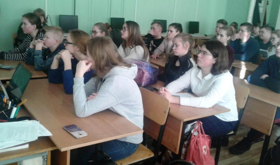 Памятное мероприятие в средней школе Владимирской области