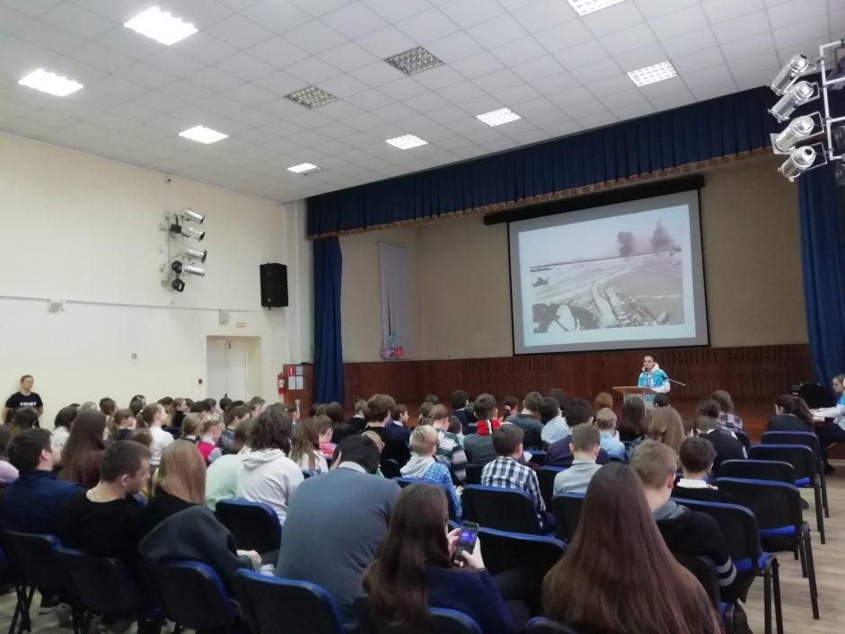 Памятные мероприятия в школе №6 г. Калуги