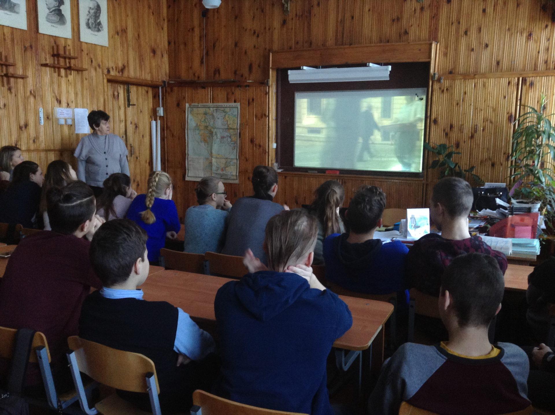 Неделя памяти жертв нацизма в школе Костромской области