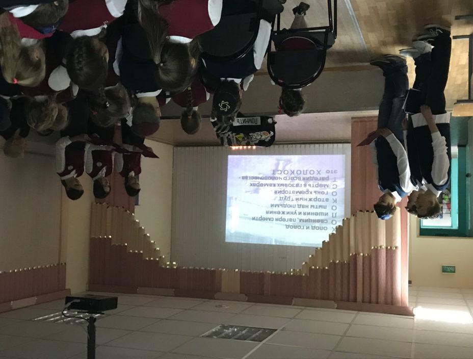 Мероприятия, посвященные Международному дню памяти жертв Холокоста, в волгоградской школе «Ор Авнер»