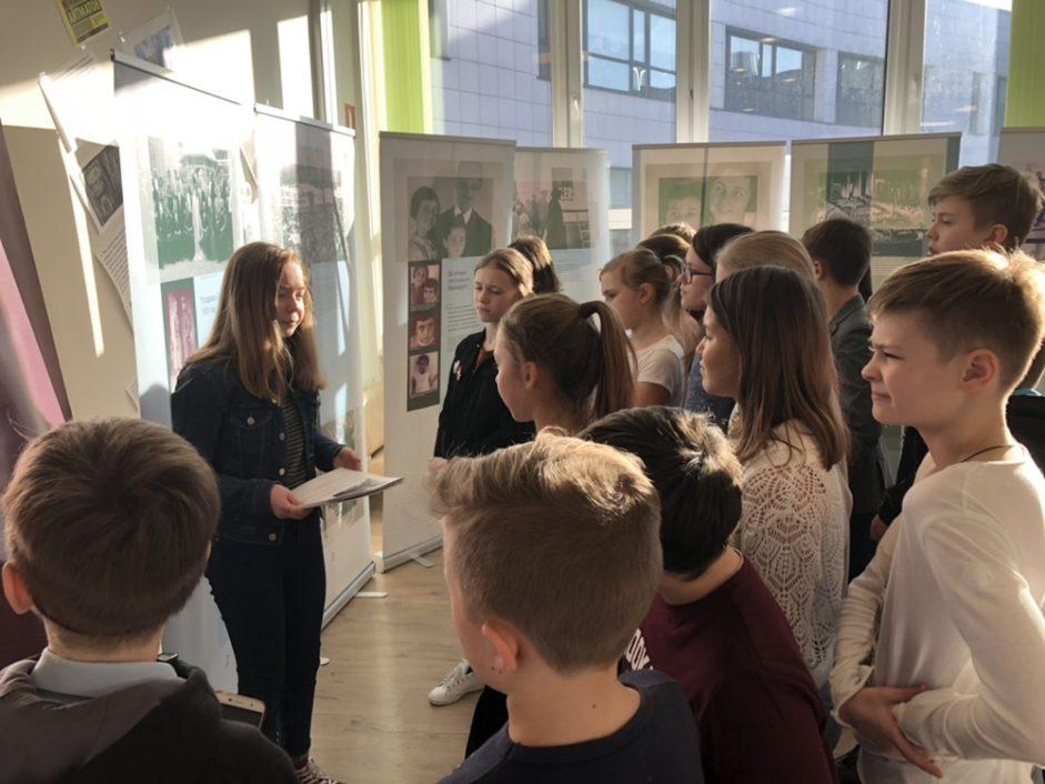 Выставка «Анна Франк. Уроки истории» в московской Школе №1514