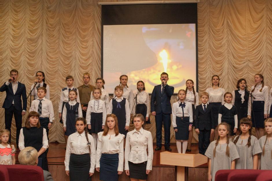 Неделя памяти в тамбовской Школе №36