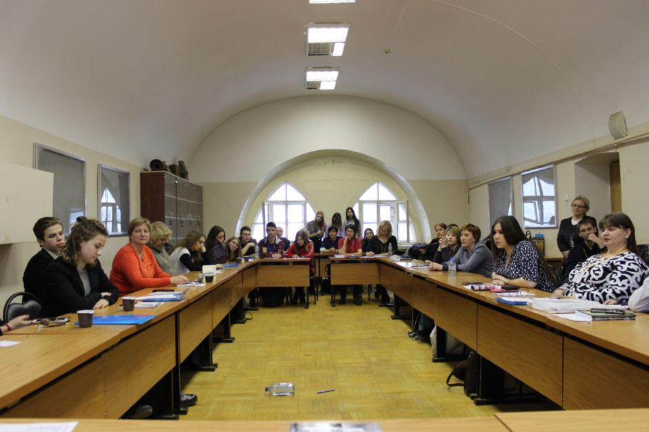 Закрытие международной конференции школьников