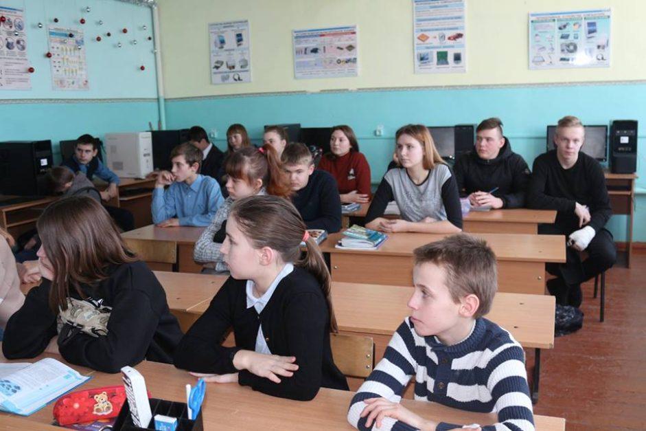 «Скорбные фиалки Холокоста» в селе Верхнеспасское Тамбовской области
