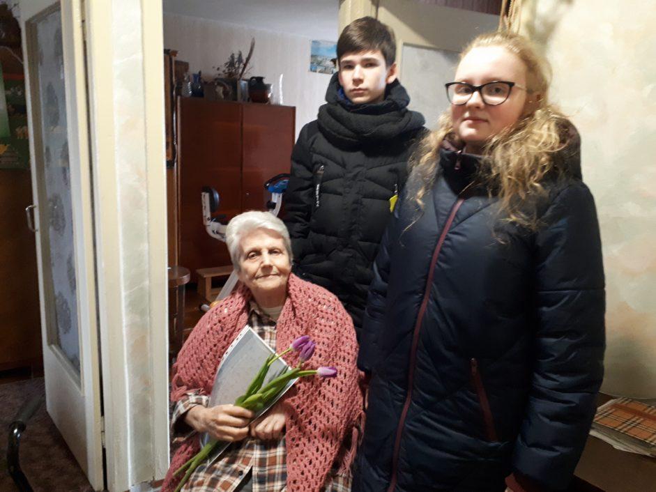 Встреча с пережившей Холокост Анитой Эдельштейн