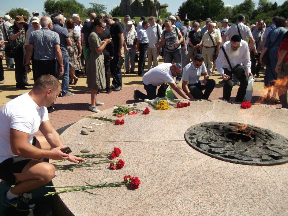 Памятные мероприятия в Змиёвской балке
