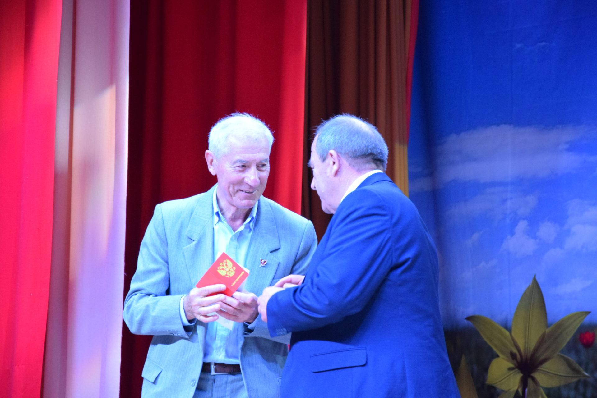 Анатолий Карнаух — Почётный гражданин Арзгира