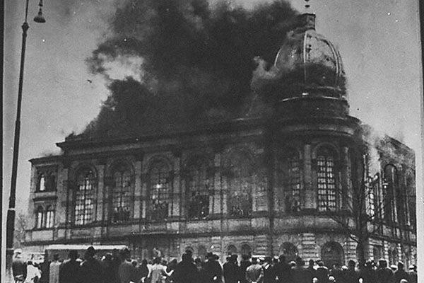 Хрустальная ночь: день, который потряс Европу