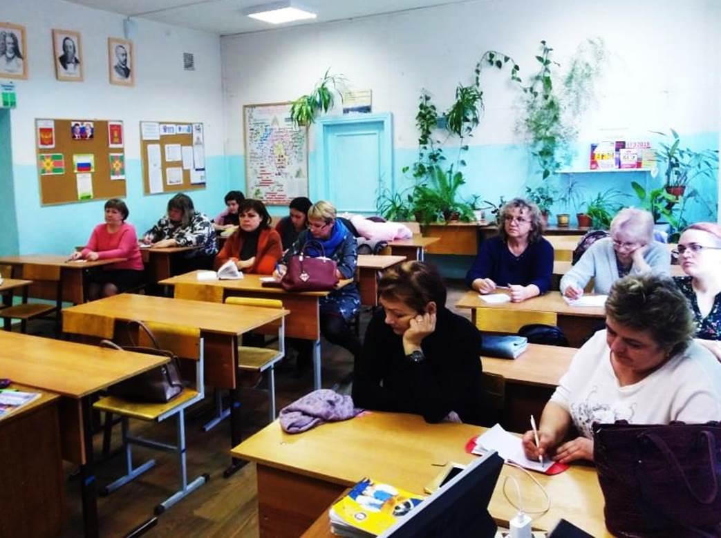 Презентация выставки на заседании методического объединения учителей истории
