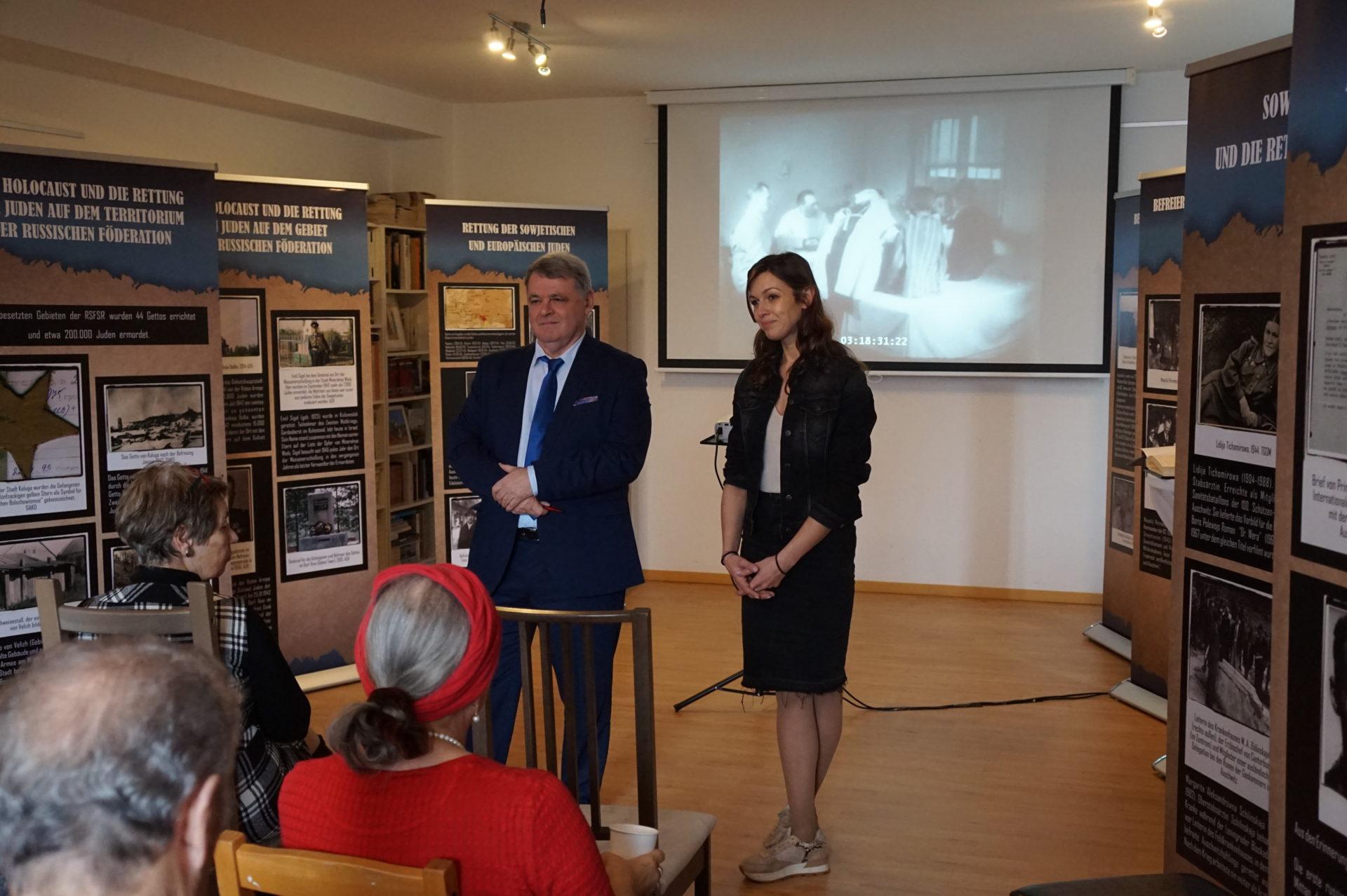 Круглый стол и выставка «Холокост: уничтожение, освобождение, спасение» в Академии им. Януша Корчака