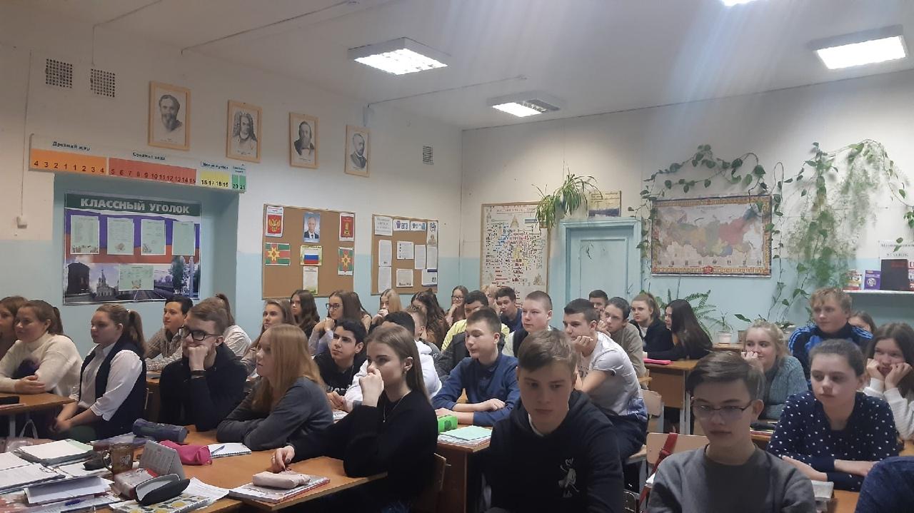 «Недели памяти» в Школе № 2 города Лихославля