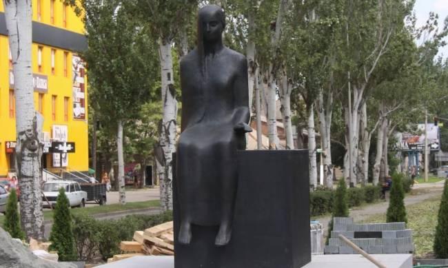«Плач по нерождённым»: памятник жертвам Холокоста установлен в Мелитополе