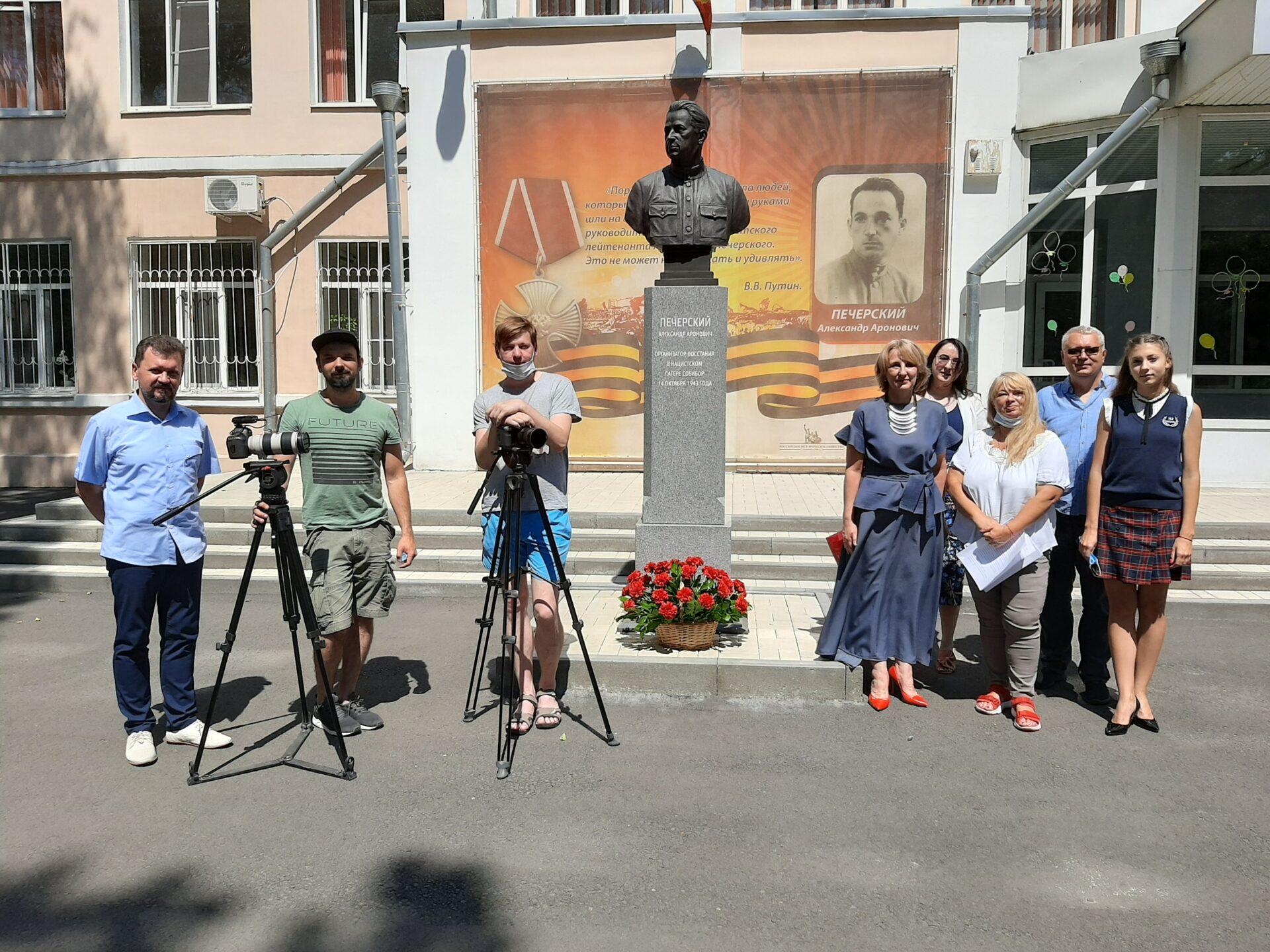 В Ростове-на-Дону прошли съемки документального фильма об Александре Печерском
