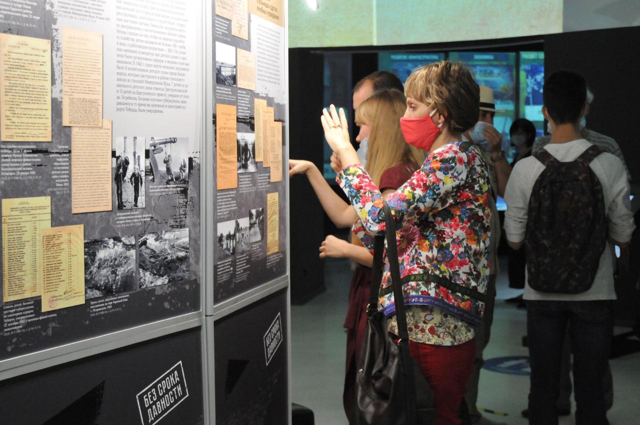 Открытие выставки «Без срока давности»