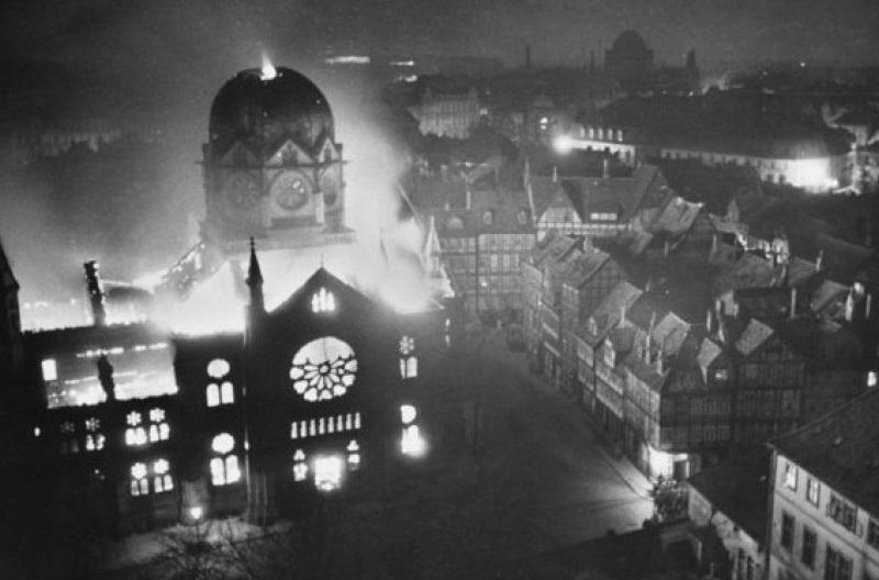 Видеозапись лекции «Трагедия Хрустальной ночи»