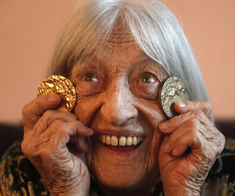 Исполнилось 100 лет олимпийской чемпионке, пережившей Холокост