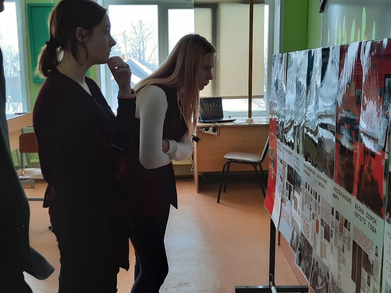 Выставка Центра «Холокост» в мини-формате будет выставлена в музее Тургиновской школы (Тверская область)