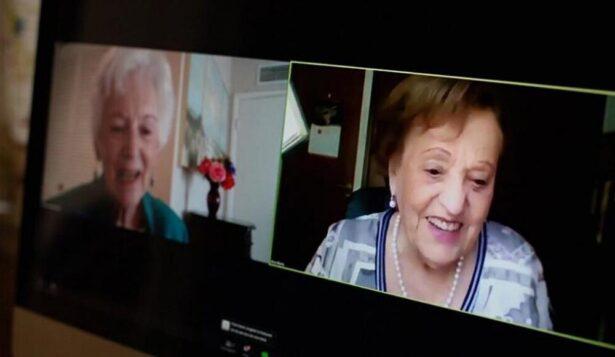 Подруги детства, разлученные Холокостом, встретились в Zoom 82 года спустя