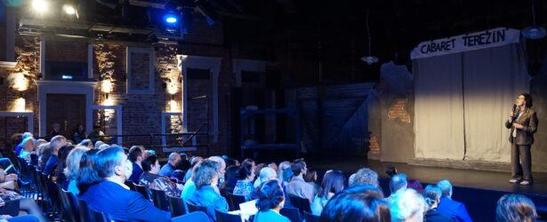 Алла Гербер выступила перед началом спектакля «Кабаре Терезин»