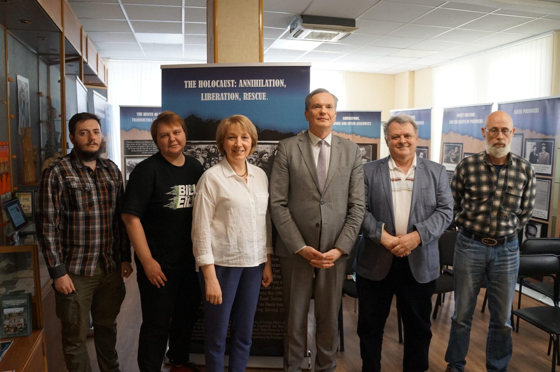 Встреча с литовским послом
